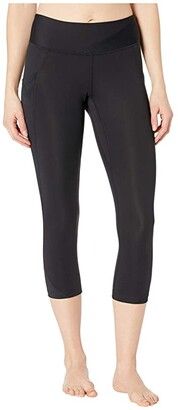 Pearl Izumi Wander Crop Pants (Black) Women's Clothing