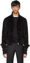Prada Black Corduroy Jacket