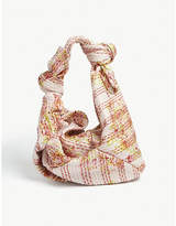 Simone Rocha Floral pattern double bow hobo