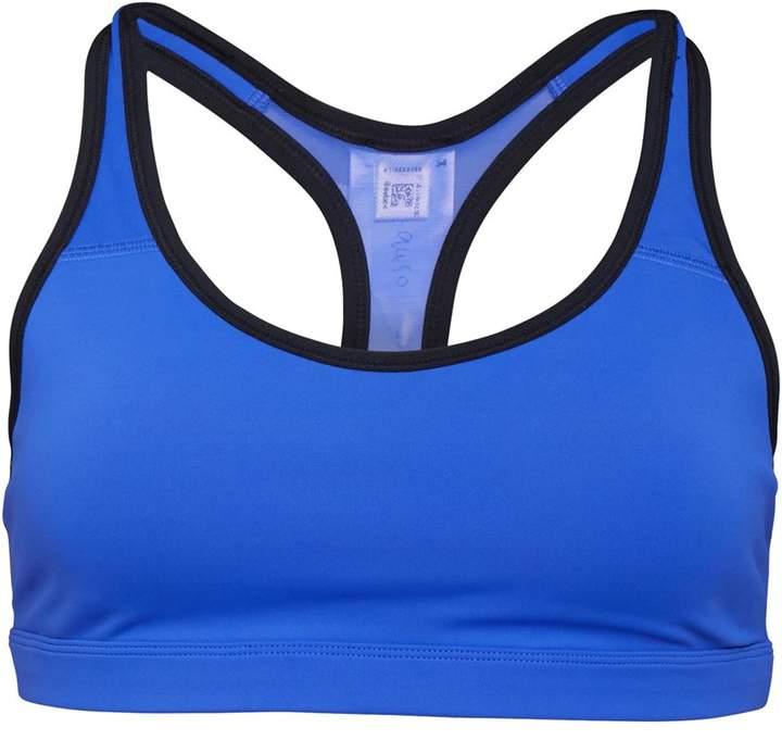8c7cf45f Womens Hero Racer Padded Sports Bra Acid Blue