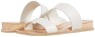 Dolce Vita Payce (White Multi Embossed Lizard) Women's Slide Shoes