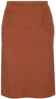 N°21 N21 Pleated Detail Tube Skirt