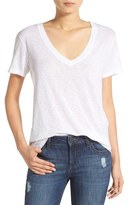Splendid Women's Short Sleeve V-Neck Tee