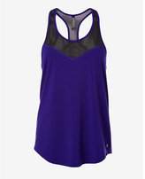 Express purple mesh inset EXP core relaxed tank