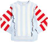 Fendi Striped Wool & Cashmere Sweater