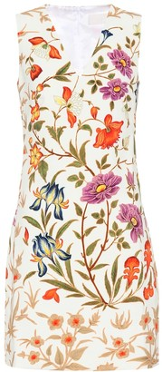 Peter Pilotto Floral crepe minidress