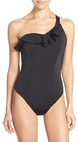 Freya Women's One-Shoulder Underwire One-Piece Swimsuit