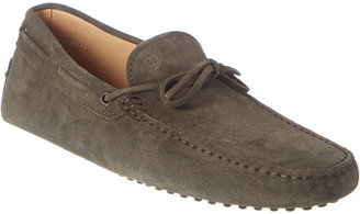 Tod's TodS Gommino Suede Driving Shoe