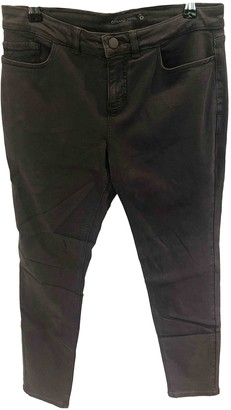 Gerard Darel Anthracite Cotton Jeans for Women