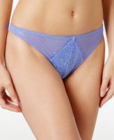B.Tempt'd Ciao Bella Mesh-Lace Thong 976144