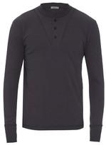 Bottega Veneta Top-button cotton-jersey top