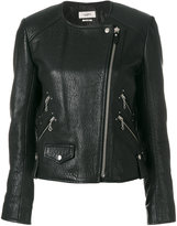 Etoile Isabel Marant kankara textured biker jacket