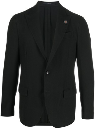 Lardini Tailored Single-Breasted Blazer