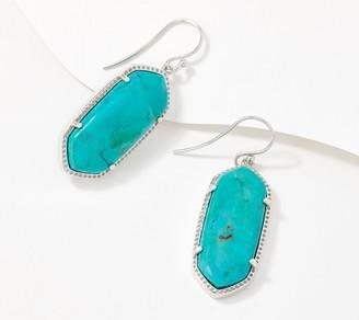 Generation Gems Sterling Silver Gemstone Fancy Cabochon Earrings