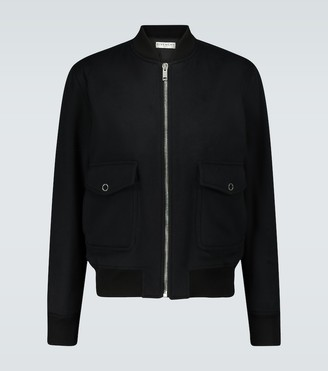 Givenchy Wool and cashmere-blend bomber jacket