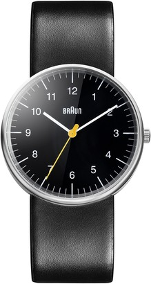 Braun Men's BN0021BKBKG Classic Stainless Steel Watch with Black Band