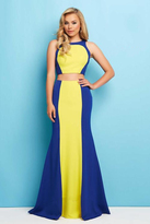 Mac Duggal 11002 L Royal/Lemon