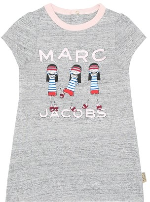 Little Marc Jacobs Baby cotton-jersey dress