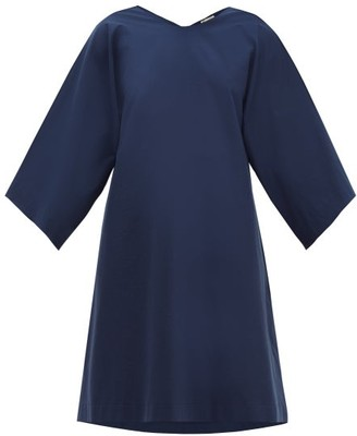 Connolly - Oversized Cotton Tunic - Navy