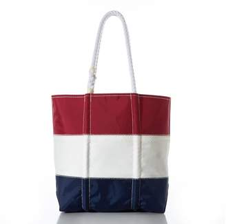 Pottery Barn USA Color Block Tote Bag