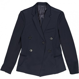 Celine Blue Viscose Jackets