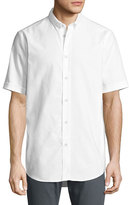 Rag & Bone Smith Short-Sleeve Classic-Fit Shirt, White