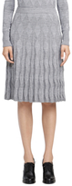Brooks Brothers Argyle Pleated Knit Skirt