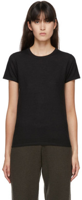 Frenckenberger Black Cashmere Perfect T-Shirt