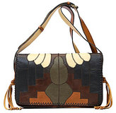 Patricia Nash Zig Zag Patchwork Collection Tivoli Cross-Body Bag