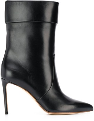 Francesco Russo Stiletto Ankle Boots
