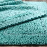 Pier 1 Imports Reversible Cotton Turquoise Bath Rug Collection