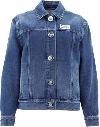 Burberry Logo Patch Denim Jacket