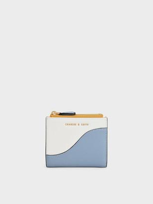 Charles & Keith Top Zip Mini Wallet