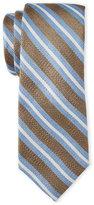 Ben Sherman Westland Stripe Linen-Blend Tie