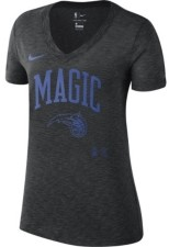 Nike Orlando Magic Women's Dry Slub V-Neck T-Shirt