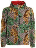 Gucci Tiger Gg Nylon Jacket