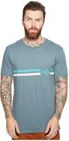 Rip Curl Crossed Pocket Custom Tee Men's T Shirt