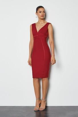 Karen Millen Sleeveless Bandage Dress