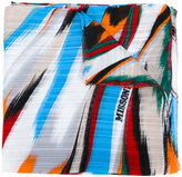 Missoni brush stroke print scarf