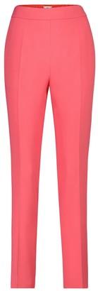 Etro High-rise slim crepe pants