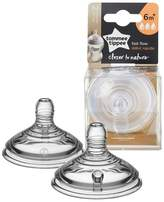 Tommee Tippee 2pk Closer To Nature Fast Flow Baby Bottle Nipples