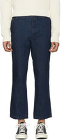 Missoni Blue Denim Cropped Trousers