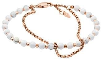 Fossil Multi-Beaded Bracelet Jewelry JA6774791