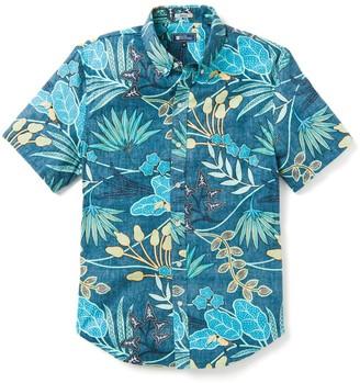 Reyn Spooner Vine Climb Tailored Tropical Short Sleeve Button-Down Shirt