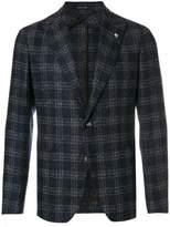 Tagliatore patch pockets checked blazer