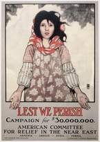 Wall Art Import World War I: Refugees. /N'Lest We Perish.' Poster By Ethel Franklin Betts Bains, 1917, For The American Committee For Relief In The Near East, Appealing For Help For Deported Armenian And Greek Orthodox Christians In The Ottoman Empire During World War I. Poster Print by (24 x 36)