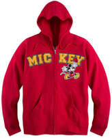 Disney Mickey Mouse Zip Hoodie for Adults