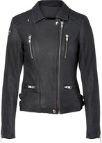 Iro Black Leather Sofia Biker Jacket