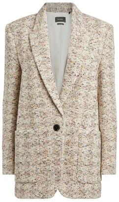 Isabel Marant Kindan Tweed Blazer Jacket