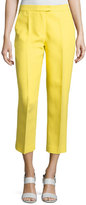 3.1 Phillip Lim Cropped Skinny Needle Pants, Citrine